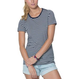 Icebreaker Tech Lite Stripe Crew - Short-Sleeve - Women's