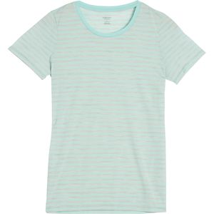 Icebreaker Tech Lite Stripe Crew - Women's