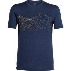 Icebreaker Tech Lite Topochartic Crew - Men's