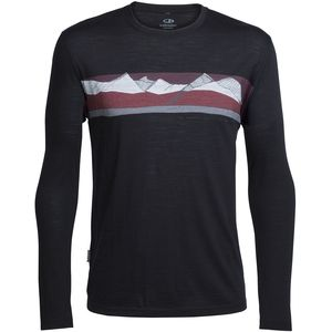 Icebreaker Tech Lite South Alps Crew - Men's
