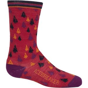Icebreaker Lifestyle Ultra Light Crew Sock - Girls'