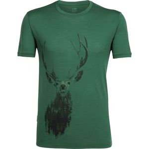 Icebreaker Tech Lite Staggering Short-Sleeve Crew - Men's