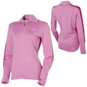 Icebreaker BodyFit260 Olympia Zip Top - Long-Sleeve - Womens