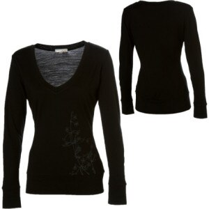Icebreaker Nature Lite Haven V-Neck Top - Long-Sleeve - Womens