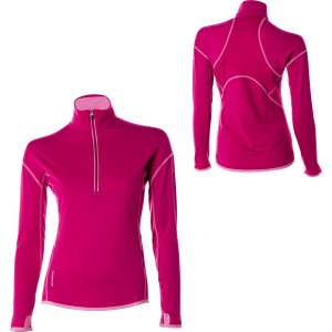 photo: Icebreaker Women's GT 200 L/S Chase Zip base layer top