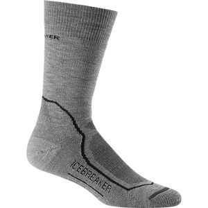 Icebreaker Hike+ Mid Anatomical Crew Sock