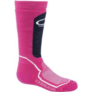 Icebreaker Snow Mid Over The Calf Sock - Girls'