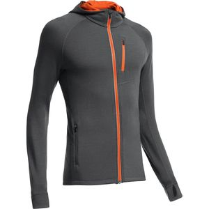 Icebreaker Quantum Hooded Full-Zip Shirt - Long-Sleeve - Men's