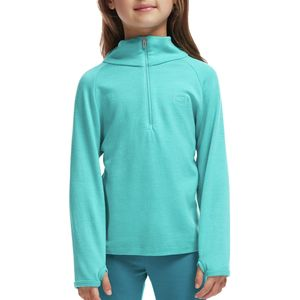 Icebreaker BodyFit 260 Compass Zip-Neck Top - Girls'