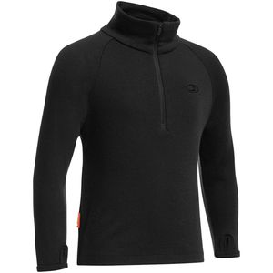 Icebreaker BodyFit 260 Compass Zip-Neck Top - Boys'
