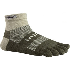Injinji Outdoor Midweight Mini-Crew Socks