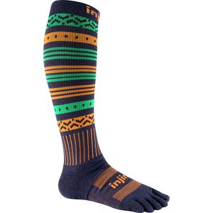 Injinji Snow Midweight Compression Over the Calf Socks