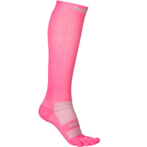 Injinji Compression Lycra Over The Calf  Toe Socks