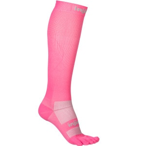injinji Compression Ex-Celerator Over The Calf  Toe Sock