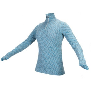 I/O Bio Merino Contact Long-Sleeve Zip Top- Womens