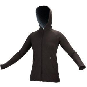 I/O Bio Merino Signature Pocket Hooded Sweater - Womens