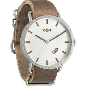 The House Of Marley Hitch Leather Watch - Men's