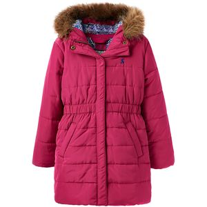 Joules Merrydale Padded Longline Coat - Girls'