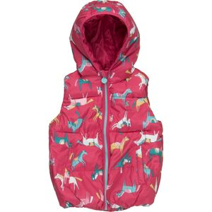 Joules Willow Hooded Padded Gilet - Girls