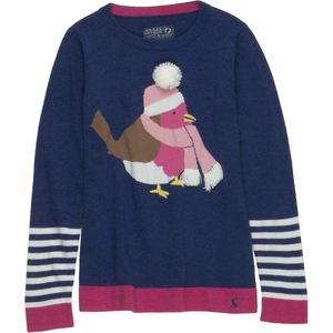 Joules Chrissie Intarsia Jumper - Girls'