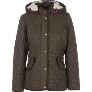 Joules Cottenham Quilted Hooded Jacket - Women's