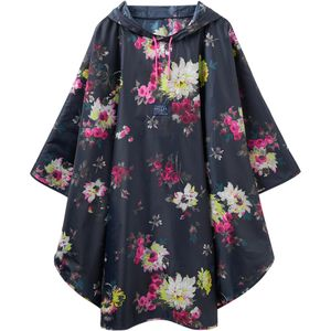 Joules Printed Showeproof Poncho - Women's