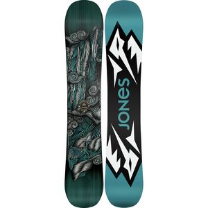 Jones Snowboards Mountain Twin Snowboard - Wide