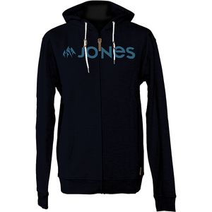 Jones Snowboards Basic Full-Zip Hoodie - Men's
