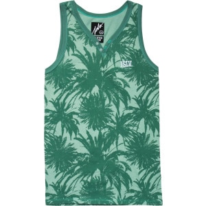 Palms Henley Tank Top - Men's