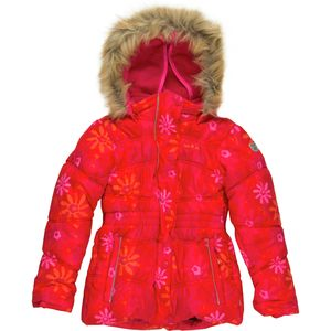 Kamik Apparel Brynn Floral Swirl Down Jacket - Toddler Girls'