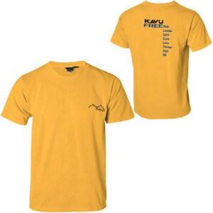 Kavu Free 2 Be T-Shirt - Short-Sleeve - Mens