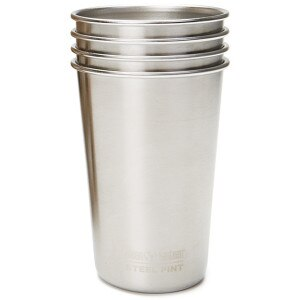 Klean Kanteen 16oz. Steel Pint Cup - 4-Pack