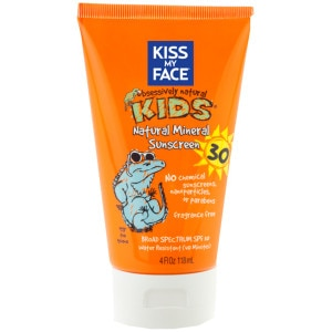 Kiss My Face Natural Mineral Lotion Sunscreen SPF 30 - Kids'