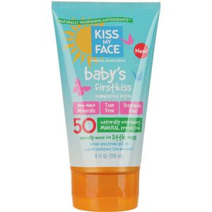 Kiss My Face Baby's First Kiss Lotion SPF 50
