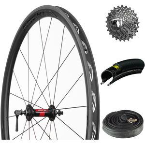 Knight 35 Carbon Fibre/DT Swiss 240S Ready-to-Ride Wheelset