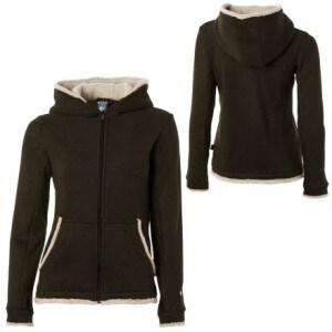 KUHL Full-Zip Hooded Fleece Jacket - Womens