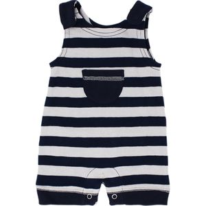 L'oved Baby Striped Sleeveless Romper - Infant Boys'