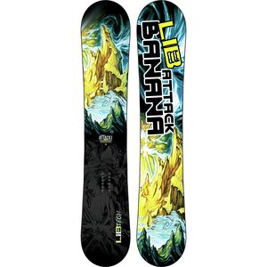 Lib Technologies Attack Banana EC2-BTX Snowboard - Narrow