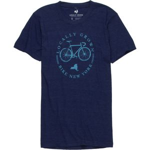 Locally Grown Bike Local New York Tri-Blend T-Shirt - Short-Sleeve - Men's