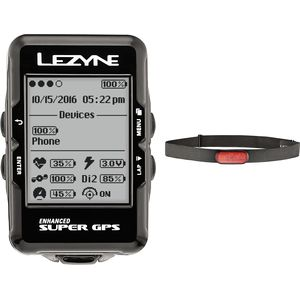 Lezyne Super GPS HR Loaded Bike Computer