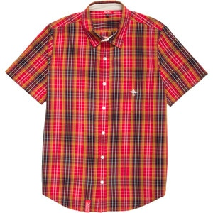 Research Collection Plaid Shirt - Short-Sleeve - Men's