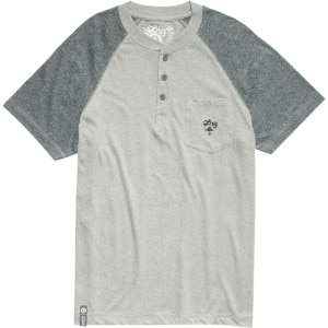LRG Core Collection Henley Shirt - Short-Sleeve - Men's