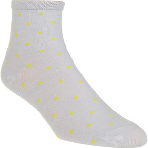 Little River Sock Mill Polka Dot Anklet Sock - Women's