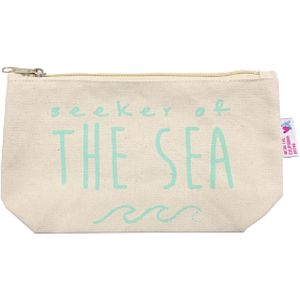 Luv Surf Apparel Seeker Of The Sea Cosmetic Bag