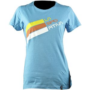 La Sportiva Stripe Logo T-Shirt - Short-Sleeve - Women's