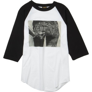 Loser Machine Lucky Dog Raglan T-Shirt - 3/4-Sleeve - Men's