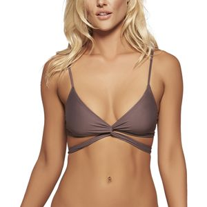 L Space Sweet & Chic Solids Chloe Wrap Bikini Top - Women's