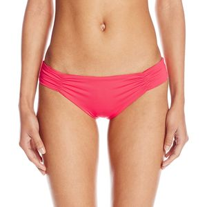 L Space Sensual Solids Monique Full Cut Bikini Bottom - Women's