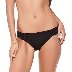 L Space Sweet & Chic Solids Monique Bitsy Cut Bikini Bottom - Women's