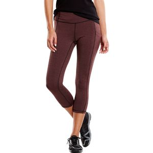 Lucy Power Train Pocket Capri Tights - Women's